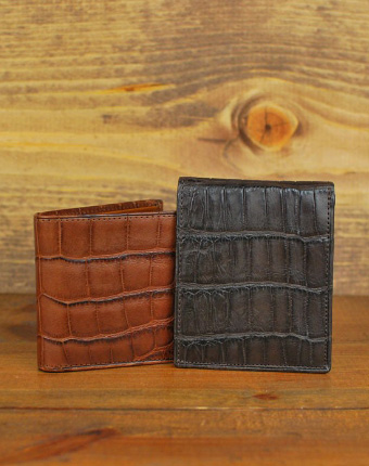 martin dingman alligator wallet